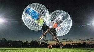 Bubble Soccer Loopyball Bubbleball Bumperball Ballon Fussball mieten